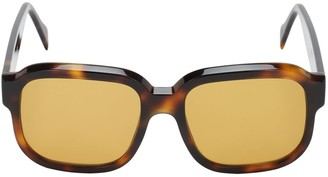 Andy Wolf John Oversize Squared Acetate Sunglasses