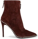 Alexander Wang Eri Studded Suede Ankle Boots