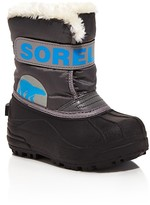 Sorel Boys' Snow CommanderTM Boots - Toddler, Little Kid