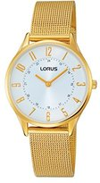 Lorus Watches Ladies Watch XS Analogue Display and Silver Stainless Steel Plated Bracelet Fashion RTA66AX9