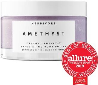 Herbivore Amethyst Body Scrub with Epsom Salt