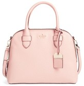 Kate Spade Carter Street - Small Ashleigh Leather Satchel - Beige