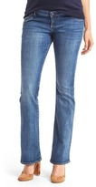 Gap Maternity inset panel baby boot jeans