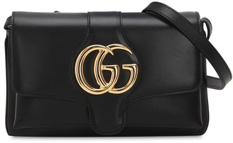 Gucci Small Arli Smooth Leather Shoulder Bag