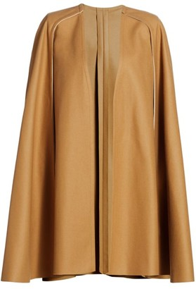 Carolina Herrera Virgin Wool Cape