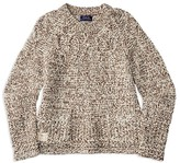 Ralph Lauren Girls' Marled Cable Sweater - Sizes S-XL