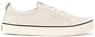 Cariuma OCA low stripe off white suede sneakers