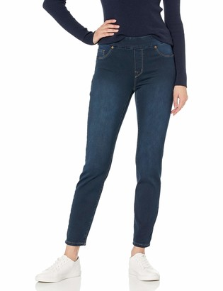 Tribal Women's Pull-On Skinny Ankle Dream Jean