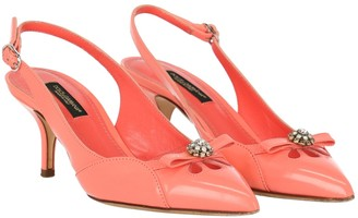 Dolce & Gabbana Pink Patent leather Heels
