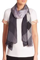 Burberry Ombre Ultra-Wash Silk Scarf
