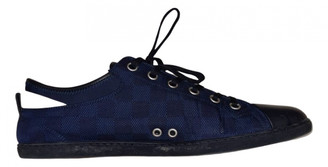 Louis Vuitton Match Up Navy Cloth Trainers