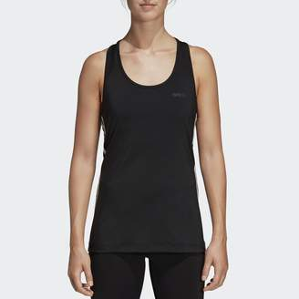 adidas 3 Stripes Vest Top with Racer Back