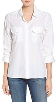 AG Jeans Women's Ace Split Hem Cotton Shirt
