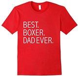 Kids Best Boxer Dad Ever Funny T-shirt Dog Dad Dog lovers Owner 4