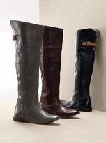 Over-the-knee cuff boot