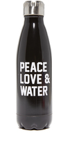 Private Party Peace Love & Water Water Bottle