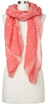 Gap Linen-cotton print scarf