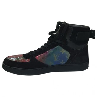 Louis Vuitton Rivoli Black Leather Trainers