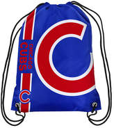 Forever Collectibles Chicago Cubs Big Logo Drawstring Bag