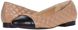Steve Madden Caption Flat (Natural Multi) Women's Shoes