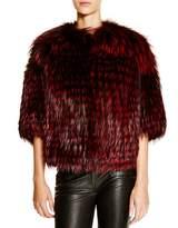 Maximilian Furs Michael Kors for Maximilian Feathered Saga Fox Coat - 100% Bloomingdale's Exclusive