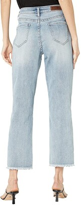 Rock and Roll Cowgirl High-Rise Cropped in Light Vintage WSC8231