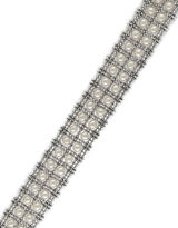 Effy White Pearl and Sterling Silver Tennis Bracelet
