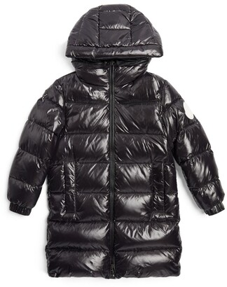 Moncler Enfant Long Berry Down Parka (8-10 Years)