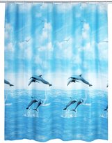 Wenko 19124100Ã'Â Shower Curtain Dolphin, 180 x 200 cm by Wenko