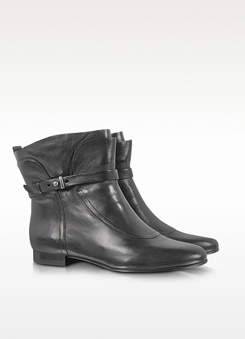 Sigerson Morrison Belle - Miracle Black Leather Ankle Boot
