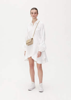 J.W.Anderson Puff Sleeve Button Up Dress