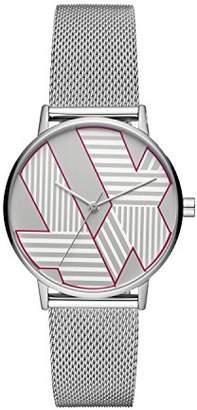 Armani Exchange Women's Analog-Quartz Watch with Stainless-Steel Strap