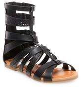 Stevies Girls' #STEPHIE Gladiator Sandals - Black