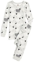 Tea Collection Girl's Baa Baa Fitted Two-Piece Pajamas