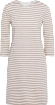 Max Mara Nella Striped Ponte Dress