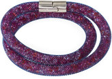 Swarovski Stardust Convertible Crystal Mesh Bracelet/Choker, Light Purple Multi, Medium