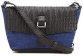 Meli-Melo Women's Maisie Cross Body Bag Blue Wash Denim