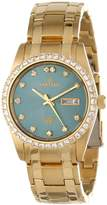 Sartego Men's SGGN16 Classic Analog Face Dial Gold Tone Swarovski Watch