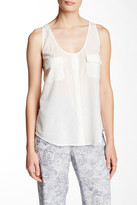 Joie Balsa Scoop Neck Tank