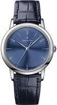 Zenith 03.2290.679/51.C700 Elite Classic alligator-leather watch
