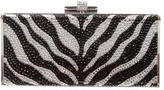 Judith Leiber Crystal Embellished Box Clutch