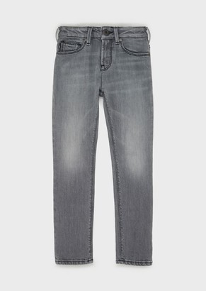 Emporio Armani Faded Denim J06 Jeans