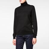 Paul Smith Women's Black Merino Wool Roll-Neck Sweater