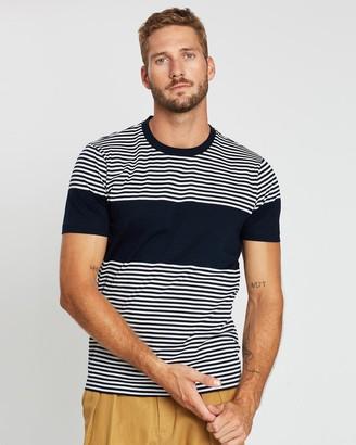 Cerruti Stripe Cotton T-Shirt