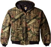 Carhartt Men's Big & Tall Quilt Flannel Lined Camo Active Jacket