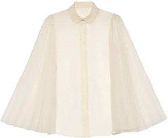 Gucci Shirt With Pleated Sleeves