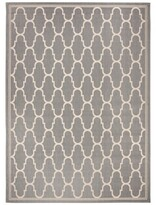 Laylah Indoor/Outdoor Gray Area Rug Charlton Home Rug Size: Rectangle 9' x 12'6""