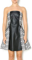 Lumier Vegan Leather Dress