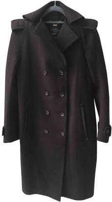 Salvatore Ferragamo Brown Wool Coats