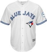 Majestic Toronto Blue Jays 40th Season Men's Cool Base Jersey Home (Large)